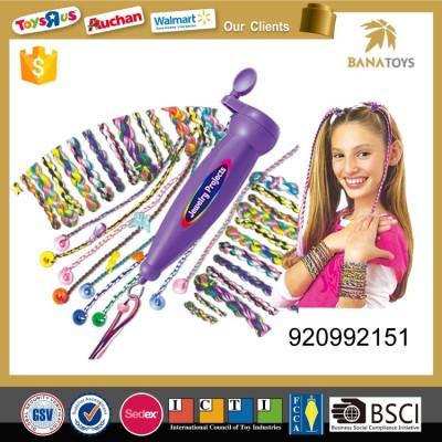 plaited rope beader ponytail machine toy