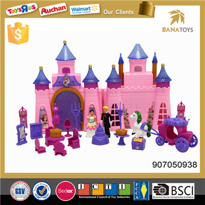 Beautiful castle play set toys kids playhouse