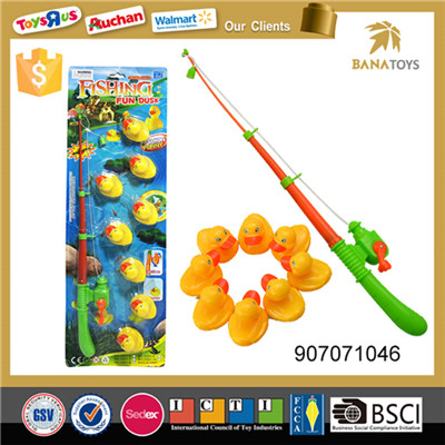Kids rod and duck set fishing game toys