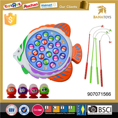 Funny game plastic toy fish hooks
