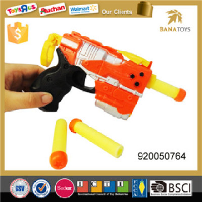 funny kids eva soft bullet gun rev toy