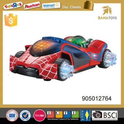 Kids electric spider racing car with light and music