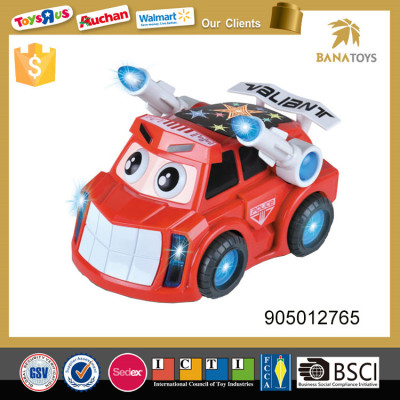 Electric armored car with 3d light and music
