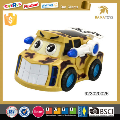 Military armored car with 3d light and music