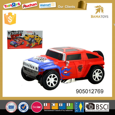 Smart design deformation toys electric car