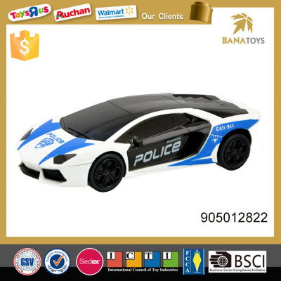 Electric police car toy with 3d light