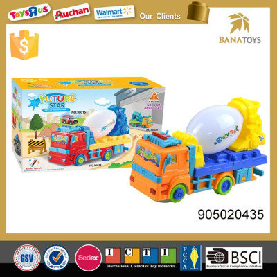 Promotional construction toy concrete mixer truck