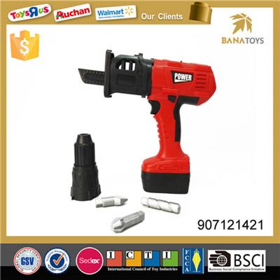 Realistic plastic drill bit box cordless drill