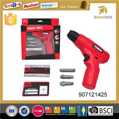 Power tool kit electric hand driller toy