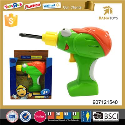 Cartoon design hand tool drill machine