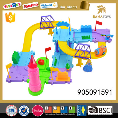 Hot sale catapult train track building block for kids Hot sale catapult train track building block for kids