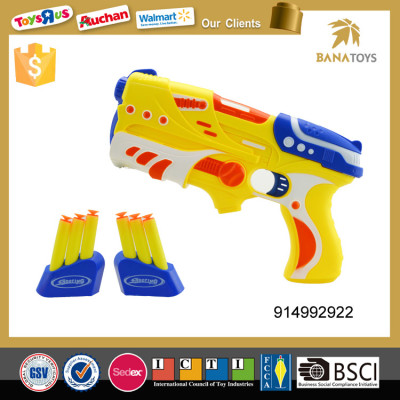 safety headshot soft bullet gun toy for kids