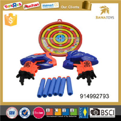 3 style shooting dart board gun toy