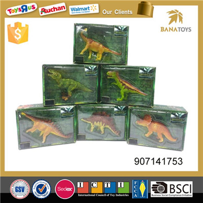 Fashion 3d animal model dinosaur statue for children