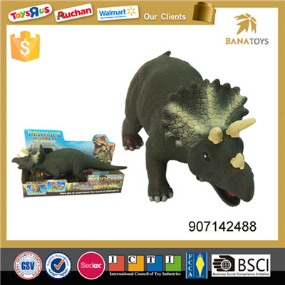 Innovative walking dino toy soft rubber dinosaur