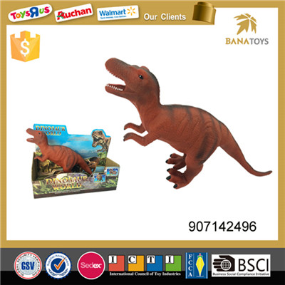 The Jurassic Period soft rubber toy walking dinosaur