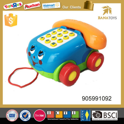 Musical car telephone with music& light Baby toy