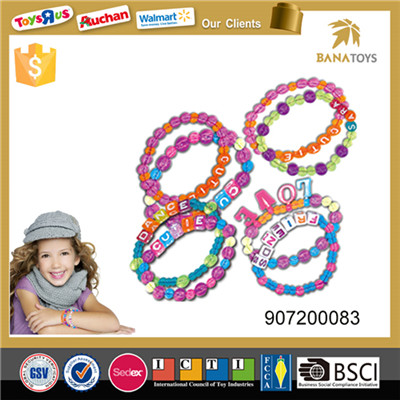 Colorful handy craft diy jewelry for girls