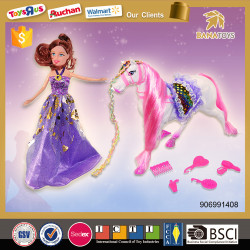 Fashion girls beauty play set toys princess doll