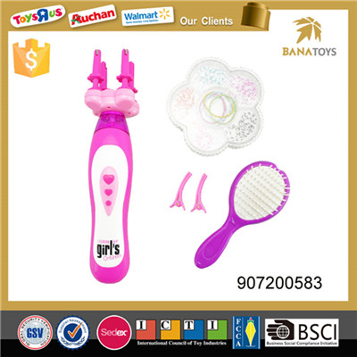 Funny electric hair weave toy for girl