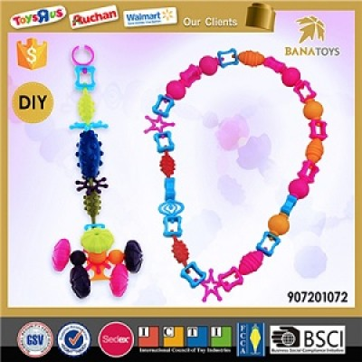 New design diy plastic beads toy for girls