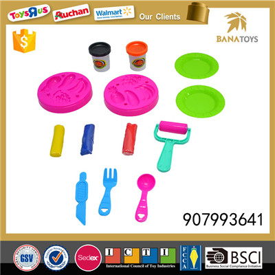 Fresh fruit toy modelling color clay
