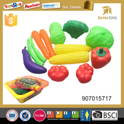 Imitated kitchen toy plastic fruit vegetable basket