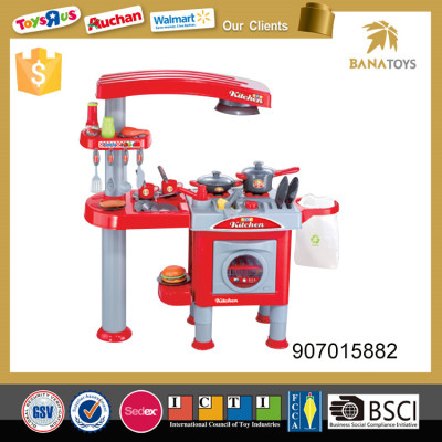 Non-toxic edulation kitchen toy set with music