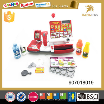 Hot item kids electronic cashier toy with top quality