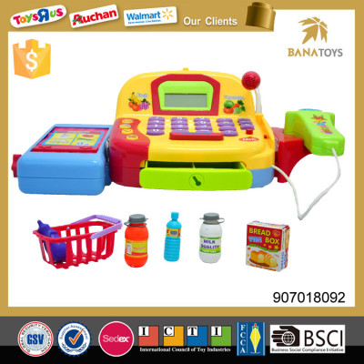 Supermarket pretend play mini cash register machine