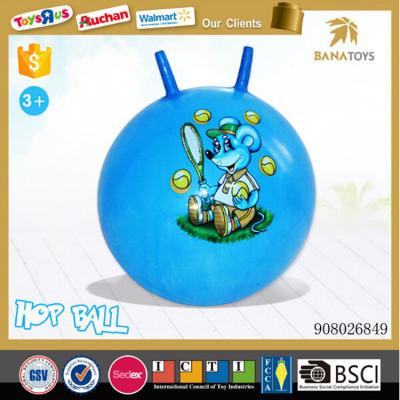 Children attractive crazy bounce beach jump ball