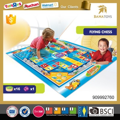 Flying Chess Game Play Mat Toy