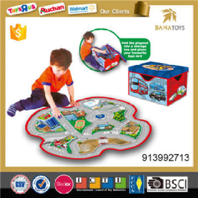 Car Game Play Carpet Toy With Store Content Function