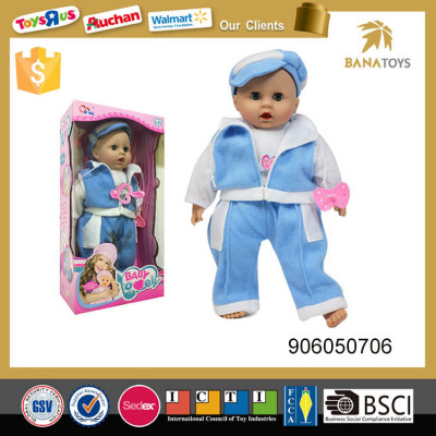 take care baby doll with feeding-bottle girl toy