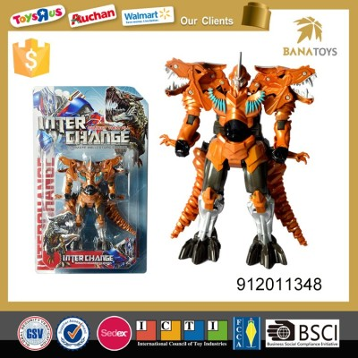 kid plastic collection transformer robot toy