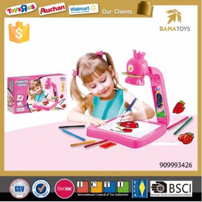 fondle admiringly drawing toy gift box