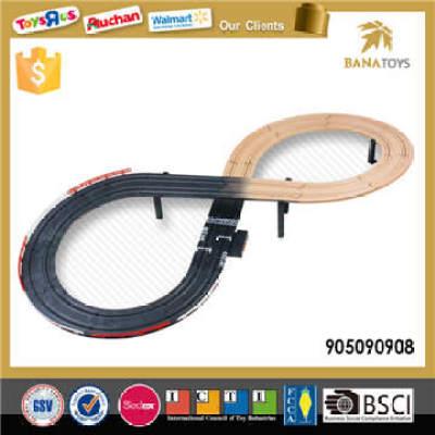 shape optional electronic racing track toy