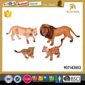 realistic mini lion decorate toy