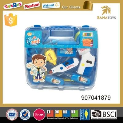 doctor toy medical set with hemospast,echometer,glucometer