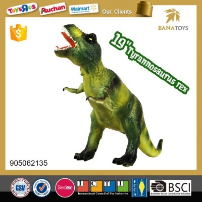 comfortable handle realistic dinosaur model toy