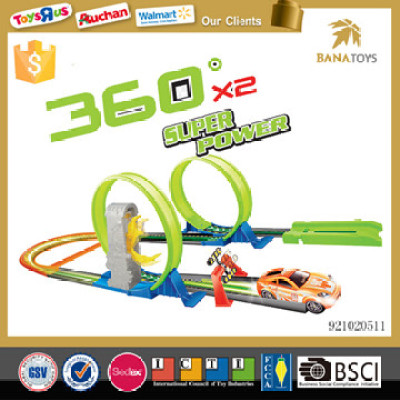 super power 360°rotate slot toy