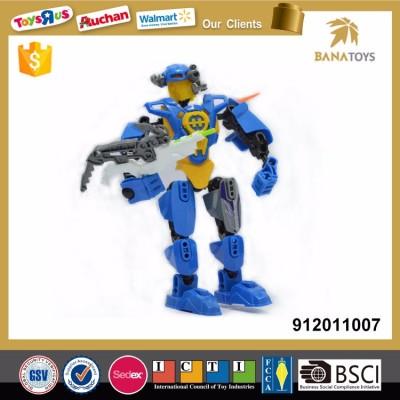 Gate keeper plastic robot kit toy
