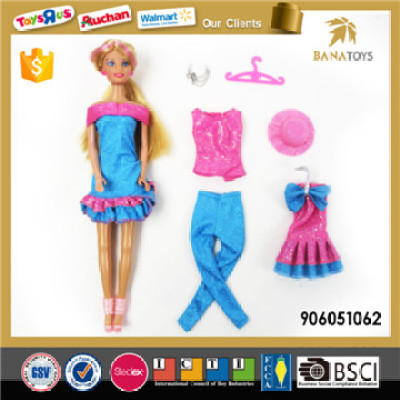 11.5 inches rich blue strong color barbie toy