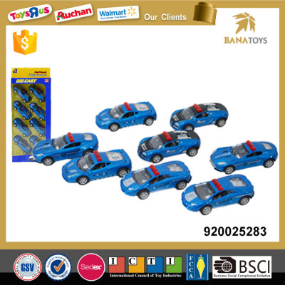 8 pcs police vans for preschool sharing