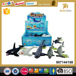 2017 new squishy realistic shark toy