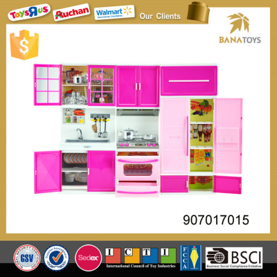 2017 hot New arrival  pretend play kitchen toy set