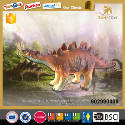 new product Soft plastic dinosaur toy for kids