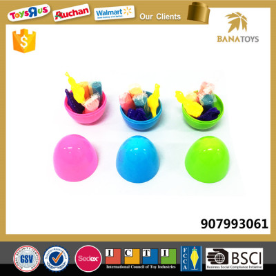 New 2017 Funny diy color dinosaur egg clay toys