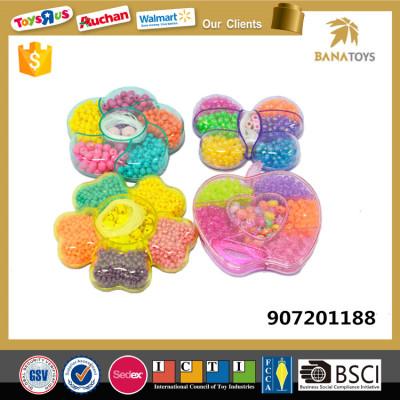 Beautiful bead bracelet jewelry plastic toys