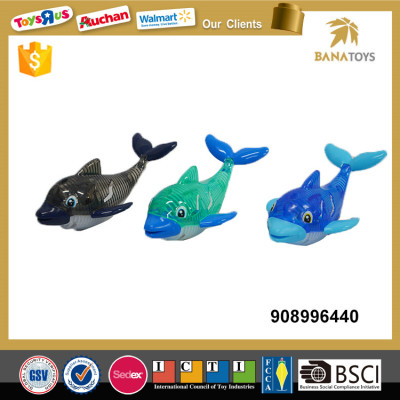 Water game dolphin diving toy with light